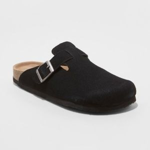 Mad Love Tina Microsuede Slip On Clogs